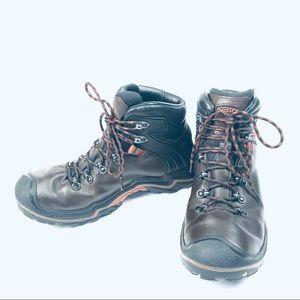 Keen Leather Waterproof Work Boots
